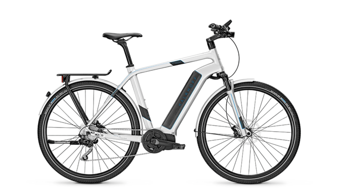 Kalkhoff Intergale 10 electric bike silver